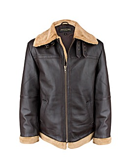 Woodland Leather Flying Jacket