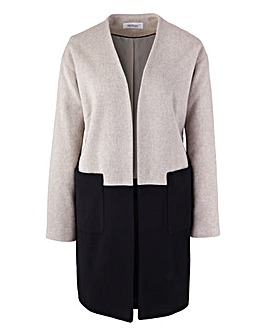 Ava By Mark Heyes Colour Block Coat