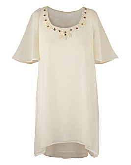 Together Boutique Bead Tunic