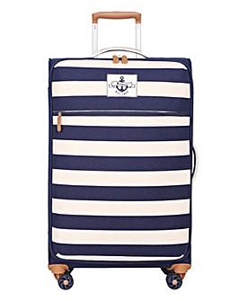 It Luggage 8 Wheel Nautical Canvas Case
