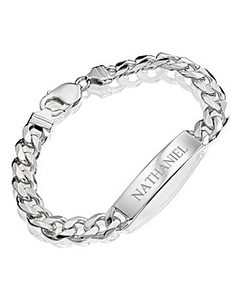 Personalised 1oz Silver ID Bracelet