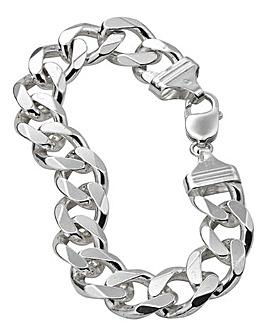 Gents Silver 3oz Bracelet