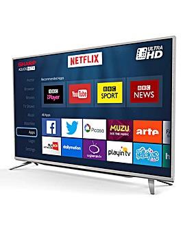 SHARP 43 Inch 4K UHD TV and INSTALL