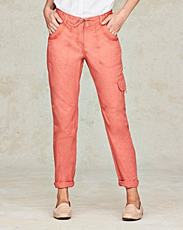 Laundered Cargo Trousers Regular