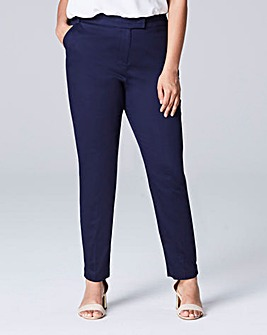 Cotton Sateen Tailored Trouser Regular