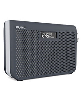 PURE ONE MIDI SERIES 3S DAB RADIO SLATE