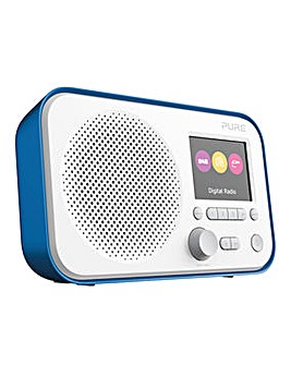 PURE ELAN E3 DAB RADIO BLUE