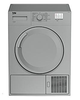 BEKO 7KG Condenser Tumble Dryer Silver