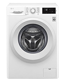 LG 6.5KG 1200RPM Washing Machine White