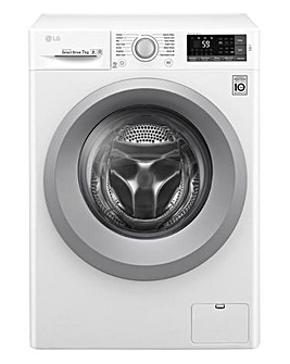 LG 7KG 1200RPM Washing Machine White