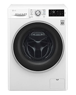 LG 8+8kg 1400RPM Smart Washer Dryer