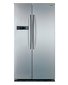 Indesit Combi Fridge Freezer Silver