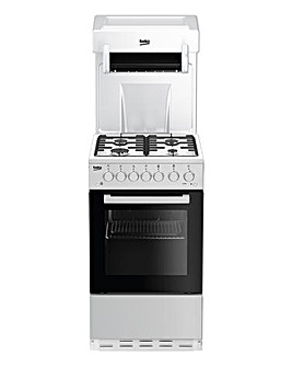 Beko 50cm Freestanding Gas Single Cooker