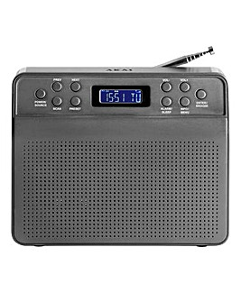 AKAI Portable DAB Radio Space Grey