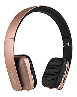 Intempo Bluetooth Cube Headset Rose Gold
