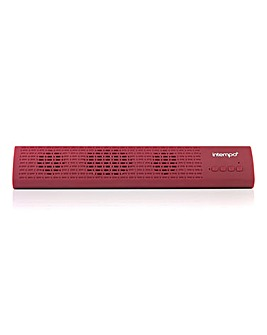 Intempo Bluetooth Sound Bar Red