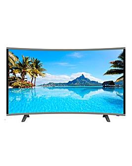 CELLO 55in Curve Smart 4K TV + Install