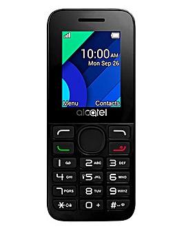 EE Pre Pay Alcatel 1054X Black