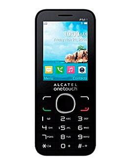 EE Pre Pay Alcatel 2054X Black