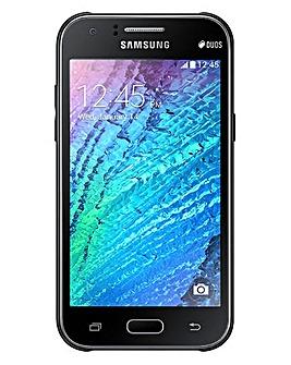 EE Pre Pay Samsung J1 Black