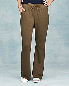 Pk2 Jersey Bootcut Trousers Regular