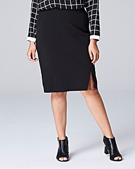 Smart Tailored Pencil Skirt
