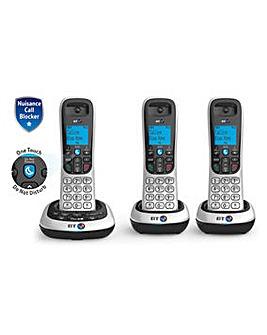 BT 2700 Trio Cordless Home Phone