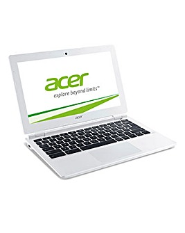 "Acer 11"" Chromebook White"
