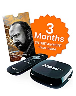 Now TV 3 Month Entertainment Pass