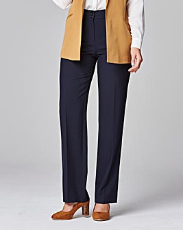 Straight Leg Bi-Stretch Trouser Long