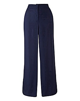 Curved Split Hem Trouser Long