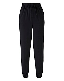 Woven Cuffed Side Pipe Trouser Reg
