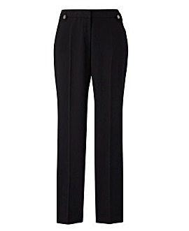 Fashion Ankle Grazer Side Piped Trouser