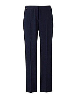 Ankle Grazer Side Piped Trouser Short