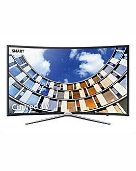 Samsung 49 Smart HD Curved TV + Install