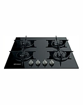 Indesit Aria UK Gas Hob Black
