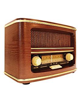 GPO Winchester Retro Wooden FM Radio