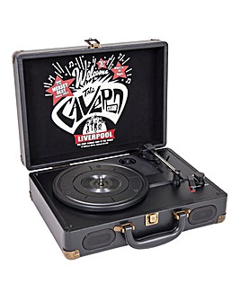 The Cavern Club Suitcase Record Player