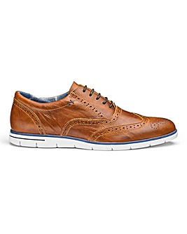 Dune Bransson Casual Brogue Trainers
