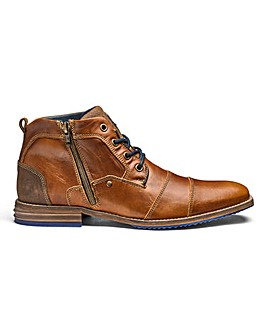 Dune Captains Toe Cap Zip Boots