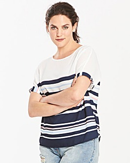 Drop Sleeve Shell Top