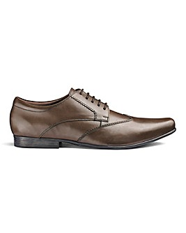 Leather Formal Derby Standard Fit