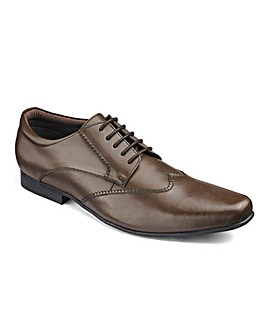 Leather Formal Derby Extra Wide Fit