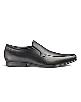 Leather Slip On Shoes Standard Fit