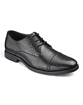 Leather Formal Derby Shoe Standard Fit
