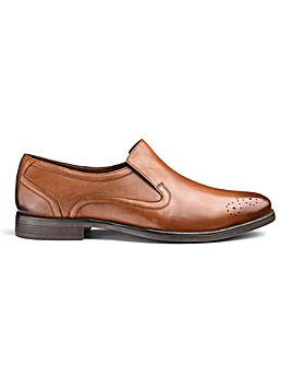 Leather Formal Slip On Shoe Standard Fit
