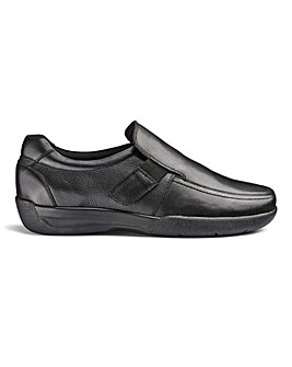 Flex Elasticated Slip On Extra Wide Fit