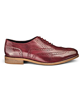 Leather Oxford Brogue Standard Fit