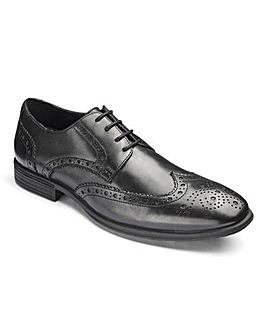 Leather Flex Formal Brogue Standard Fit