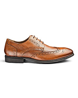 Soleform Leather Brogues Extra Wide